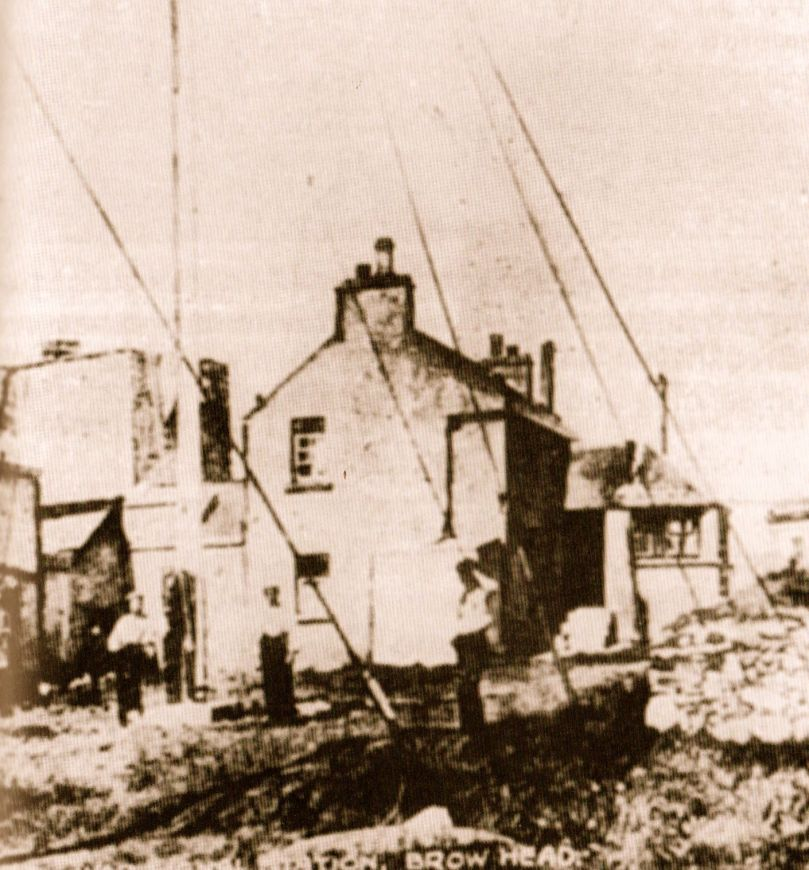 The Marconi Wireless Telegraph Station at Brow Head - exactly 100 years ago