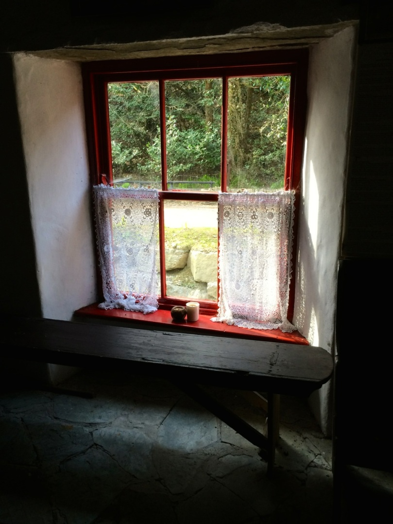 Cottage window, Rathbarry