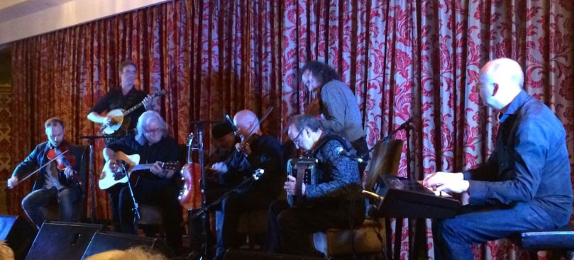 Skaggs, Hayes, Cahill,  Schrey and the Brock McGuire Band bring the house down in Bantry