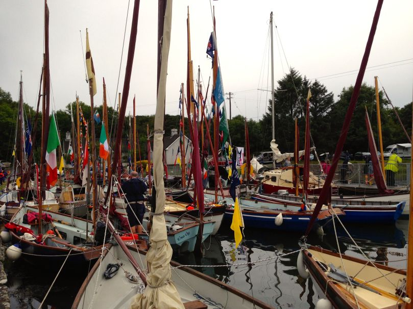 A damp Boat Festival in Ballydehob