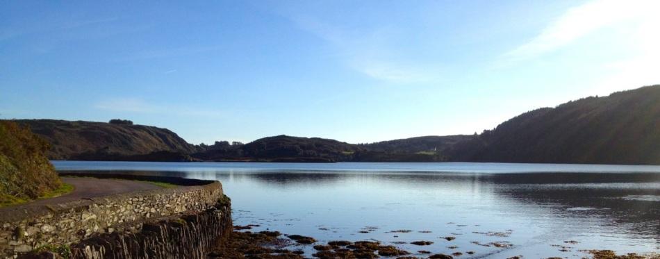 Lough Hyne twilight
