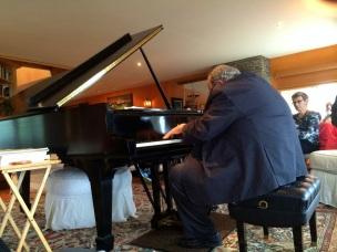 David at the Piano