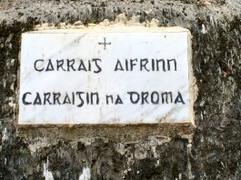 Cononagh sign