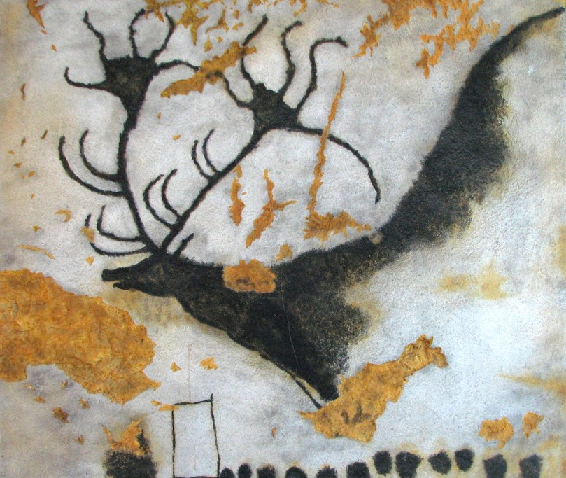 Lascaux Cave Painting - estimated to be 17,300 years old