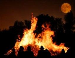 bonfire moon