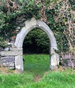 Doorway, Kilcoe church