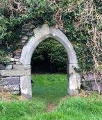Doorway, Kilcoe church