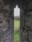 medieval window, Kilcoe church