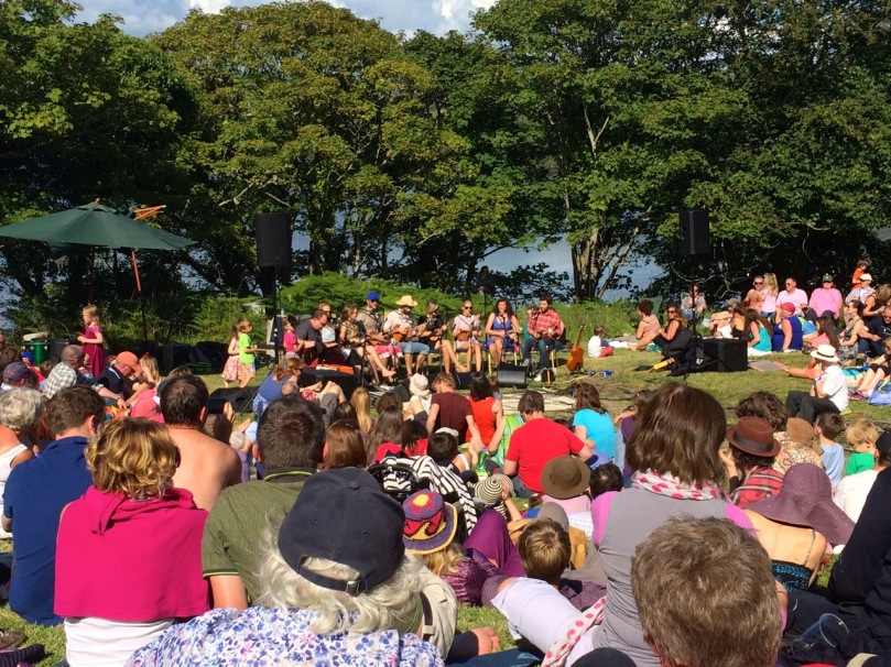 Summer concert at the amphitheatre - the West Cork Ukelele Band