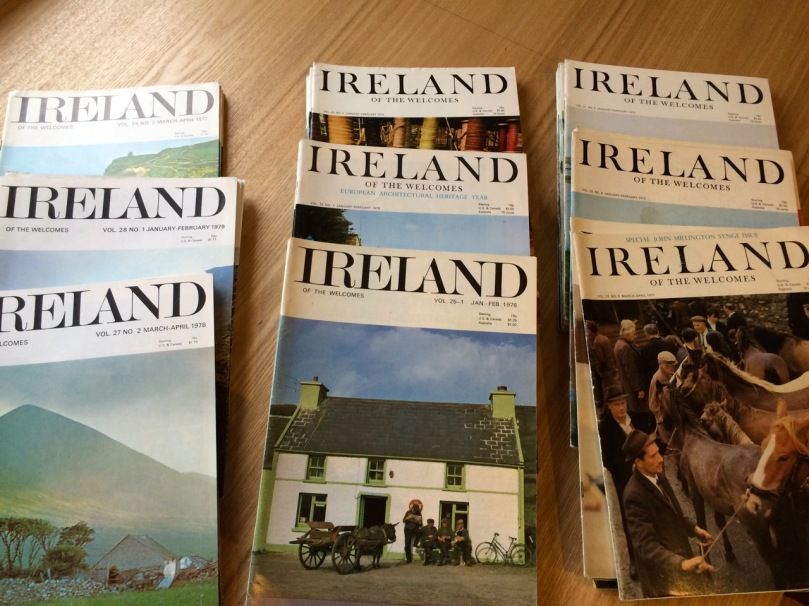 1970s set of Ireland of the Welcomes