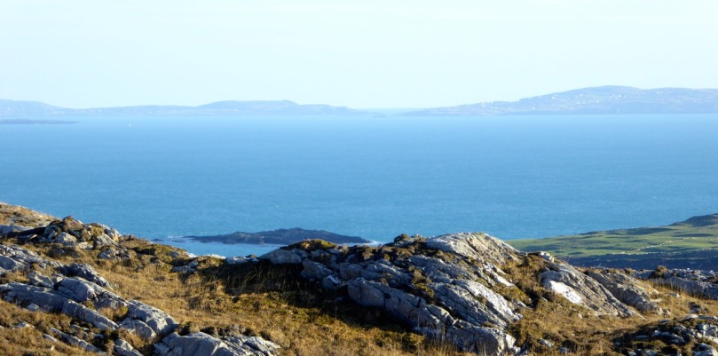 Looking across Roaringwater Bay