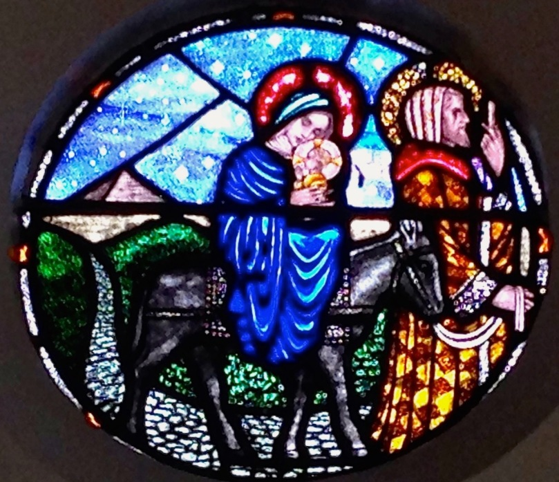 Aughadown church, flight into Egypt