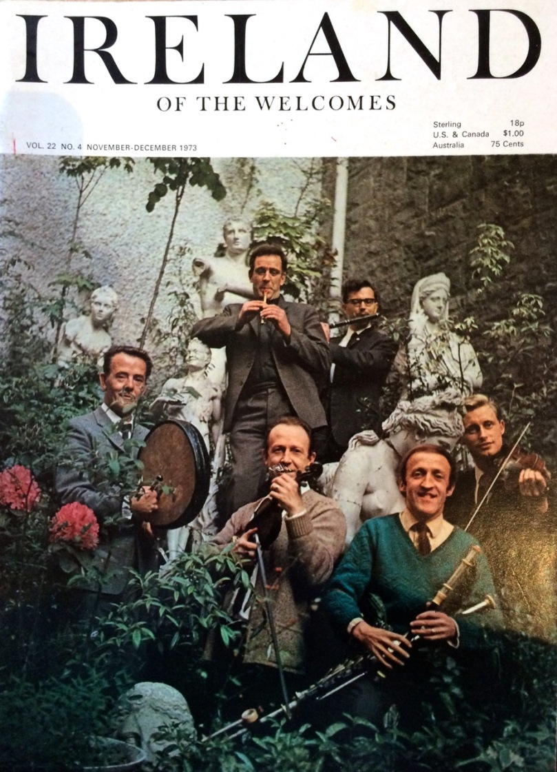 The Chieftains looking impossibly young. They're still going strong!