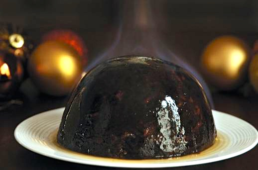 Brenda Costigan's mother's plum pudding