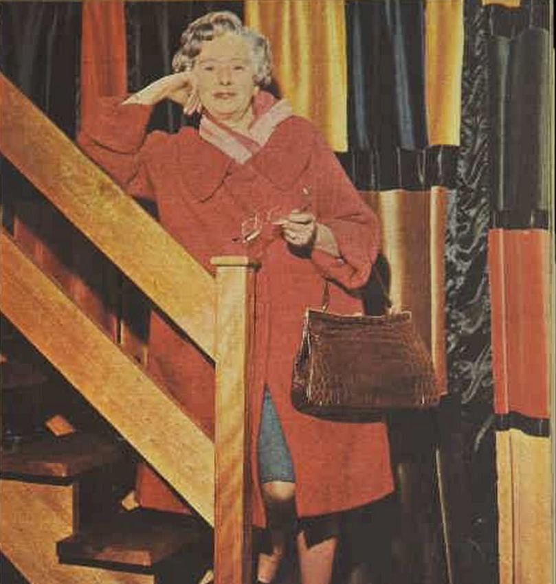 Monica in 1968, from the Australian Womens' Weekly