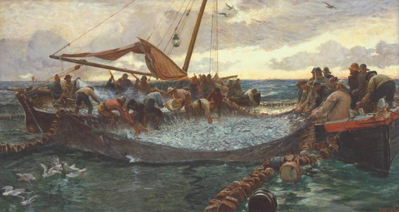 'Pilchards' - Charles Napier Hemy 1897 (Tate Gallery)