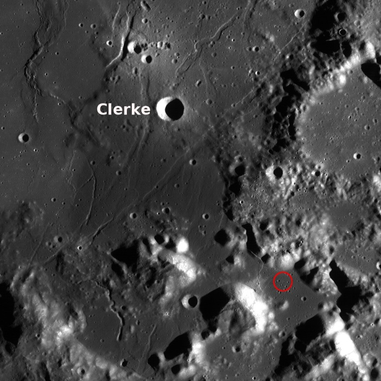 The Clerke Crater