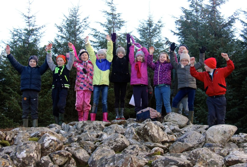 Kilcoe National School Fourth Class - archaeologists of the future!