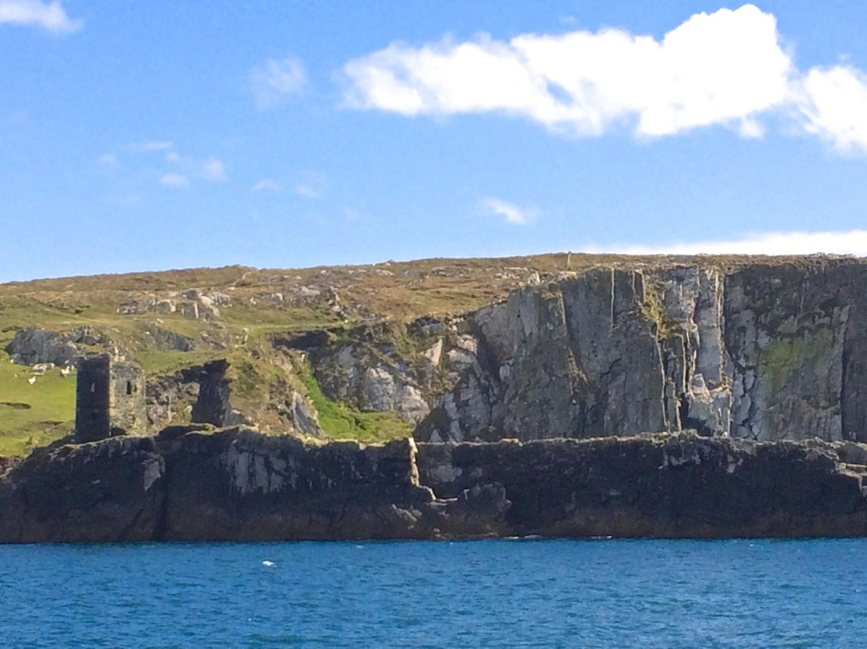 Although its name means Fort of Gold, today Dún an Óir on Cape Clear Island looks remote and forbidding