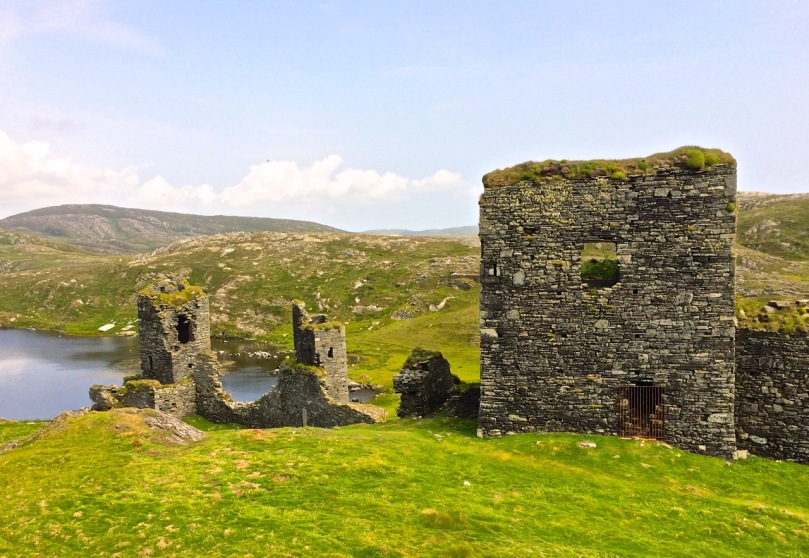 Dunlough Castle, known as Three Castle Head