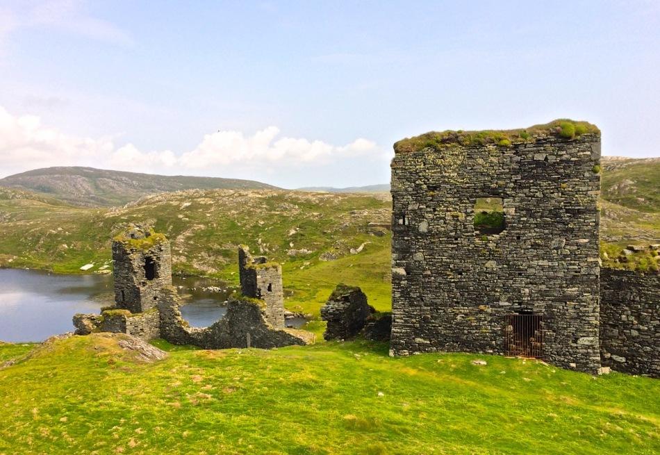 Dunlough Castle, known as Three Castle Head