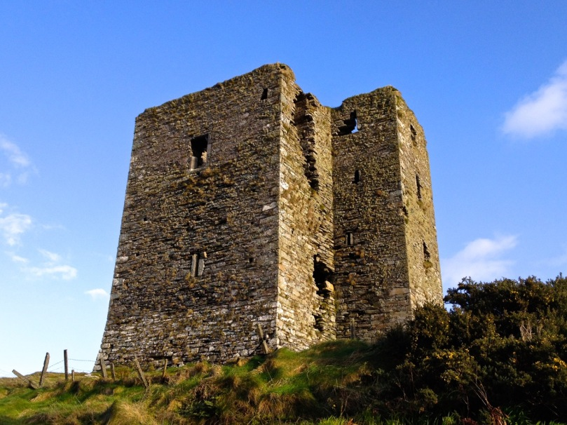 Dunmanus, with its additional turret. The top windows were always the largest.