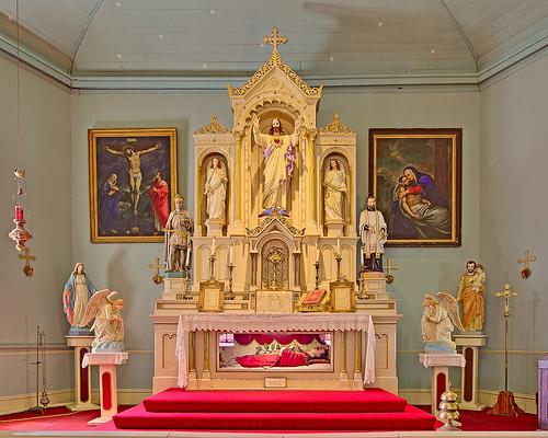 Saint Ferdinand's, Florissant, Missouri also claims relics of Saint Valentine