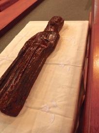13th century effigy...