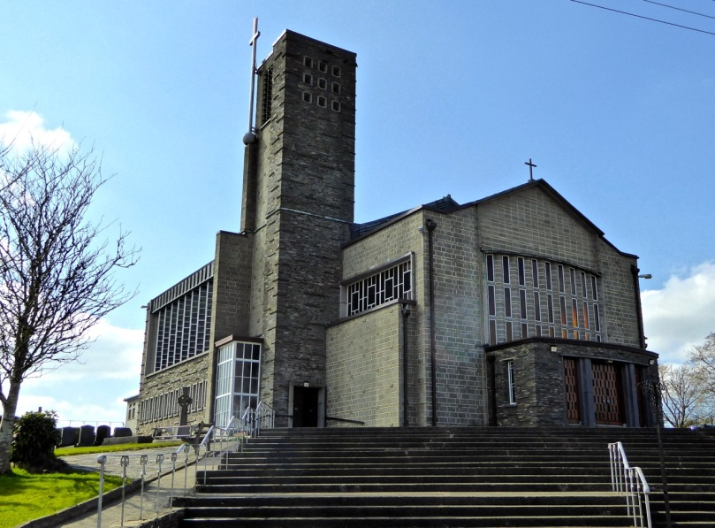 All Saints, Drimoleague - 1950s modernist architecture