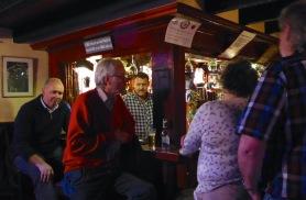 The Singing Barman