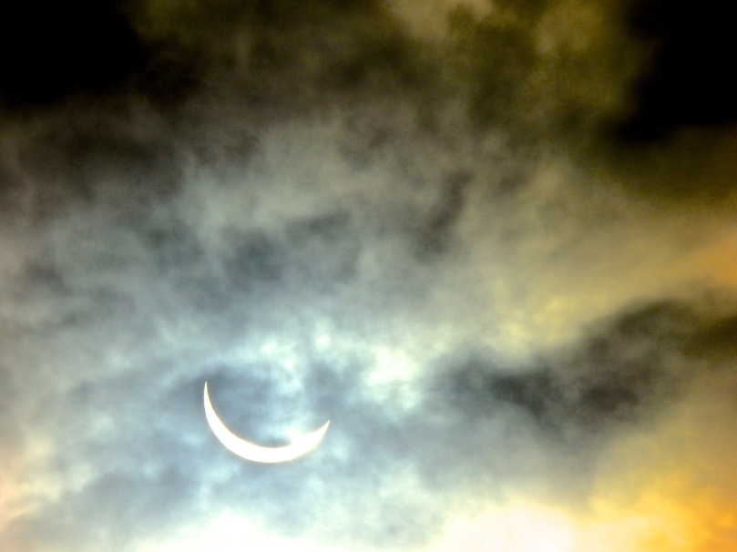 Solar eclipse, West Cork, March 20, 2015