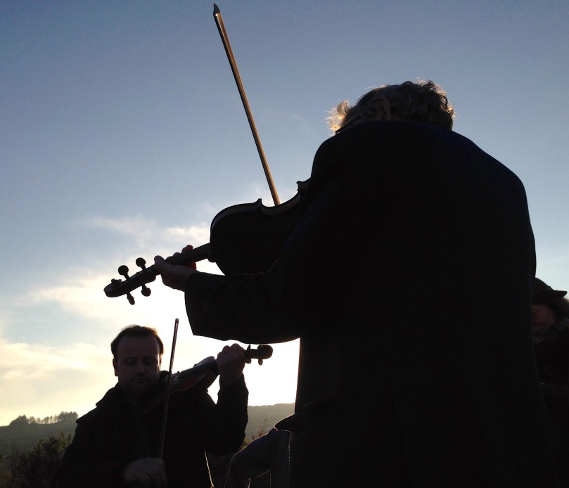 Fiddles at the Chief O'Neill's Festival, Tralibane
