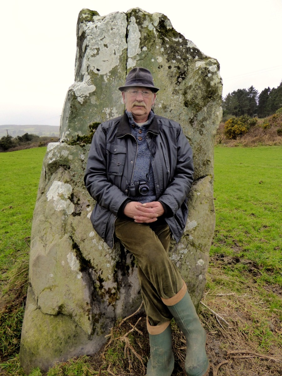 Jack Roberts, author, artist, and one man encyclopedia of West Cork