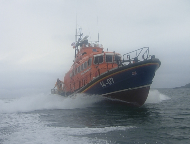 Courtmacsherry 'Trent' class Lifeboat: Frederick Storey Cockburn