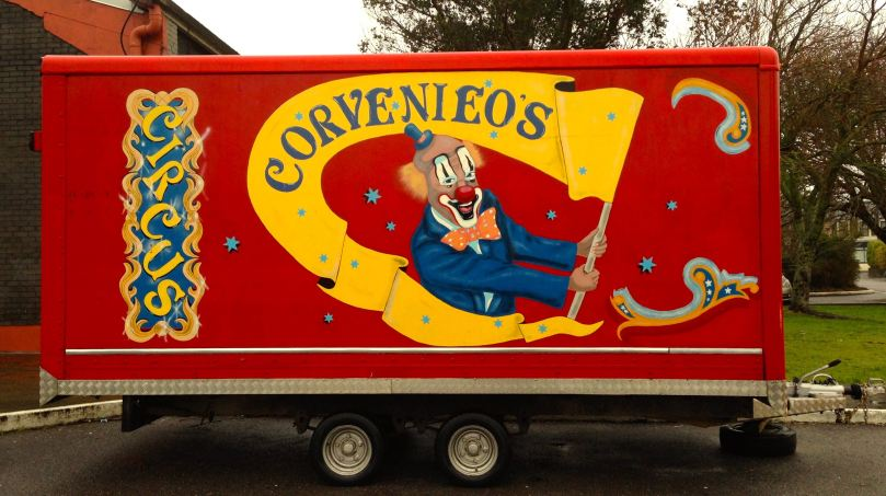 Circus in a box...