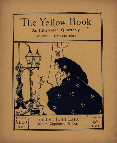 Cover by Aubrey Beardsley, Poem by Ellen Clerke