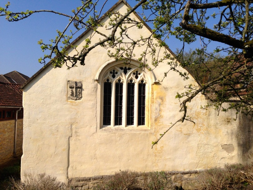 St Patrick's Chapel - one of the earliest buildings at Glastonbury