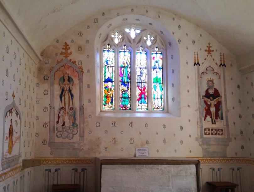 Inside St Patrick's Chapel