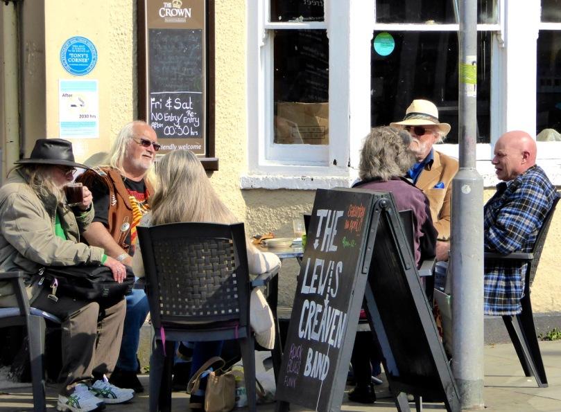 Coffee time in Glastonbury