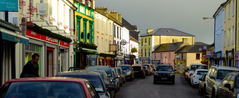 Schull, colourful village with great shopping