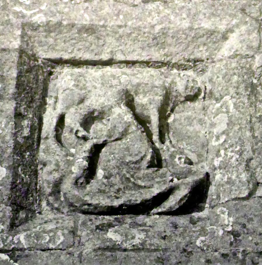St Brigid - another Irish Saint in Glastonbury