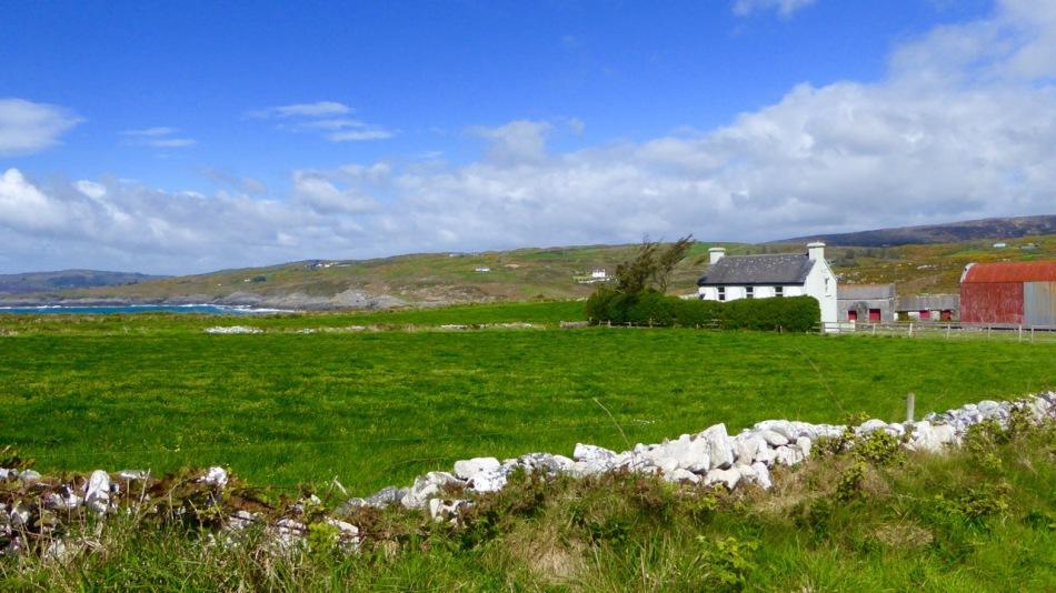 Farmhouse near Toe Head