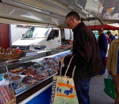 Gubbeen market stall