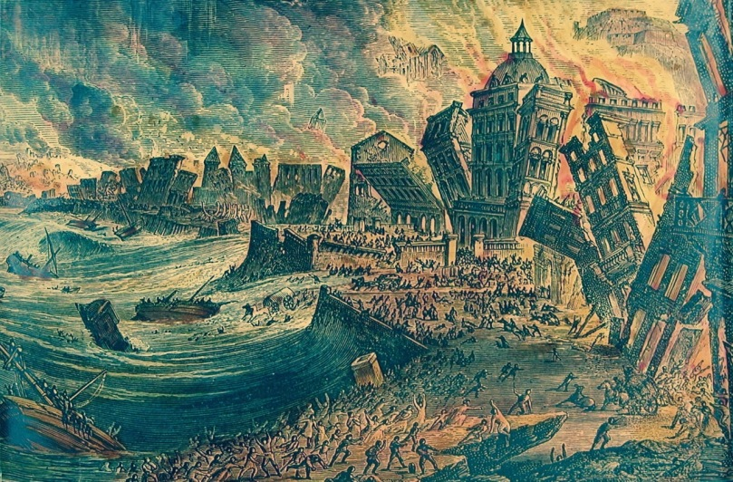 The Lisbon Earthquake of 1755 changed the shoreline of Britain and Ireland