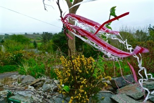 Replete with ribbons for May Morning