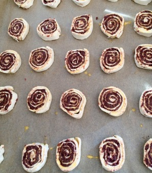 My swirls in prep
