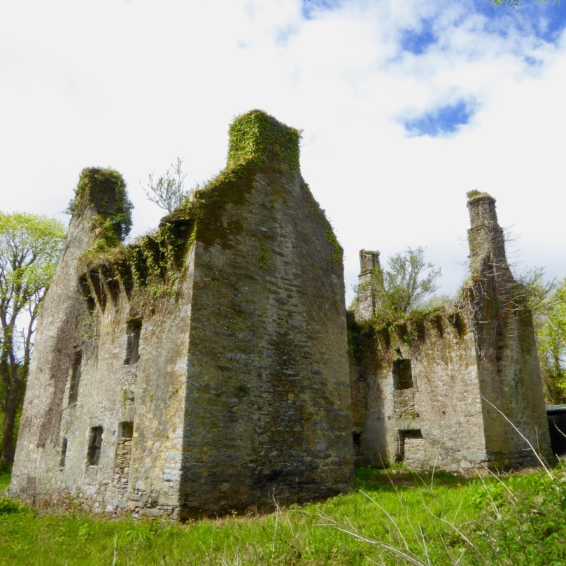 The Elizabethan-era fortified house at Gearhameen, near Durrus