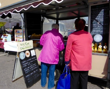 Saturday market in Skibbereen