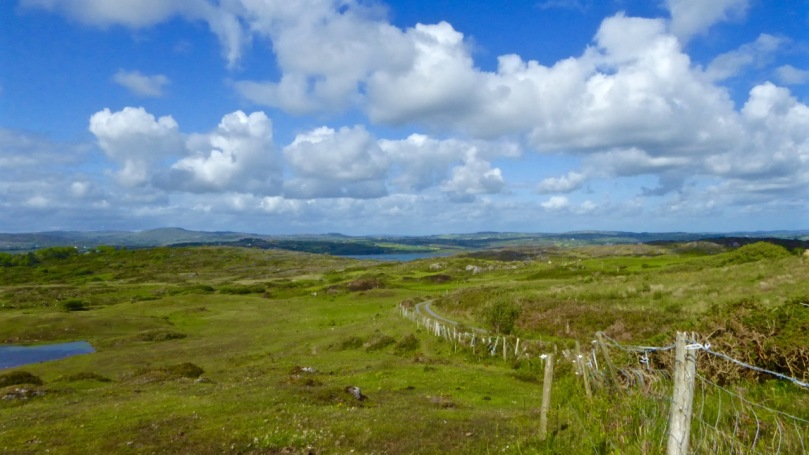 The view from Cappaghglass, on the Rossbrin Walk
