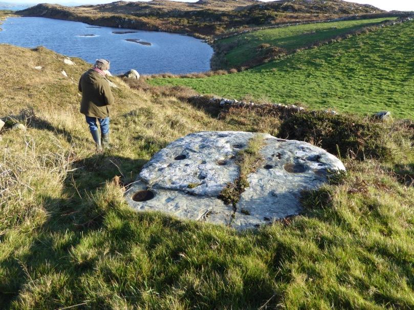 Castlemehigan cupmarked stone